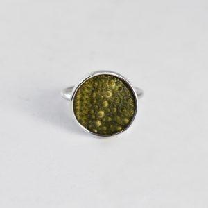 Green Sea Urchin Ring