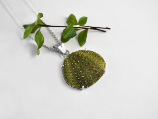 KJ110 Big Sea Urchin Necklace 2