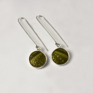 Dangling Sea Urchin Earrings