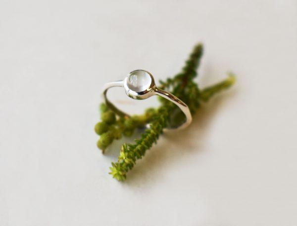KJ301 Moonstone Ring