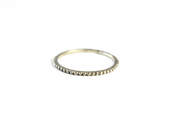 KJ305 Bobble Urchie stacking ring 1