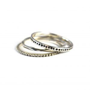 Urchie Stacking Ring Set