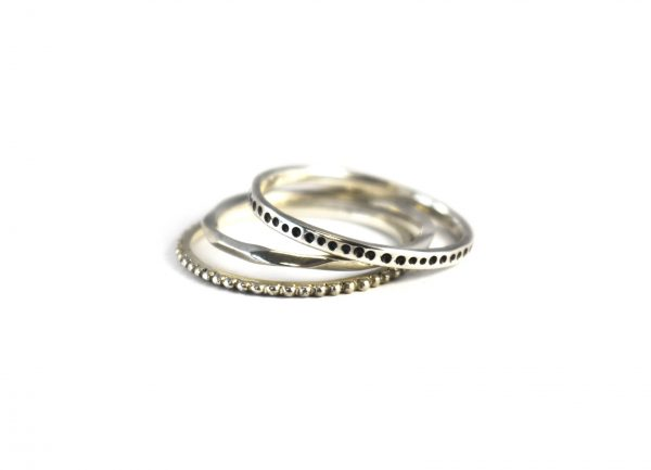 KJ305 Urchie stacking ring set 1