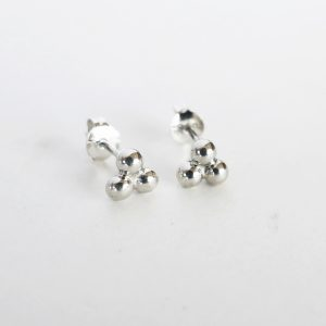 Trio Bubble Studs