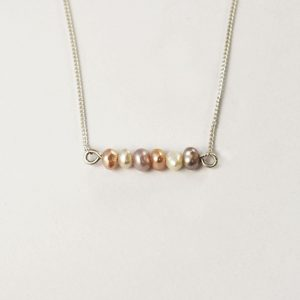 Candy Pearl Necklace – Rainbow