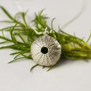 Classic Silver Sea Urchin Necklace