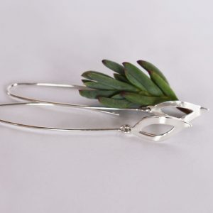 Dangling Leafy Earrings