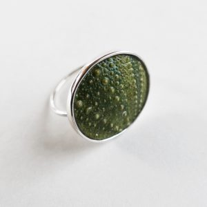 Big Green Sea Urchin Ring
