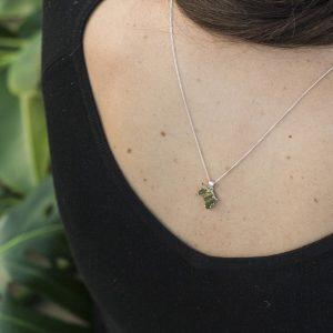 KJ113 Sea Urchin Africa Necklace 3