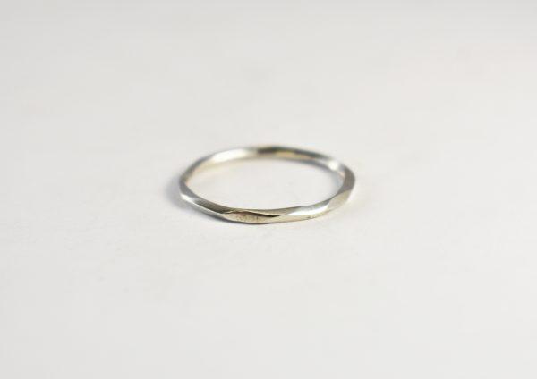 KJ305 Wavy Urchie Stacking Ring 1