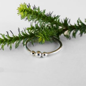 Three Bobble Urchie Stacking Ring