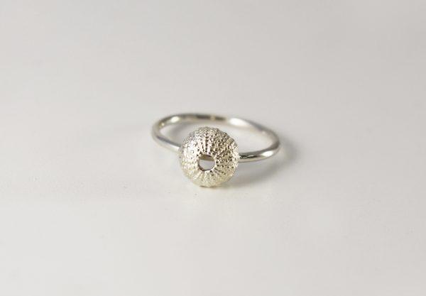 Silver Baby Sea Urchin Ring