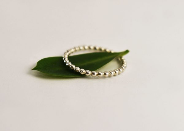 Bubbly Stacking Ring