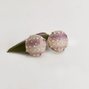 Purple Sea Urchin Studs