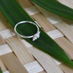 Baby Conch Ring 3 (k)