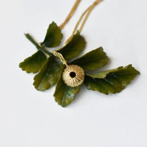 Baby Sea Urchin Necklace – 9ct Yellow Gold
